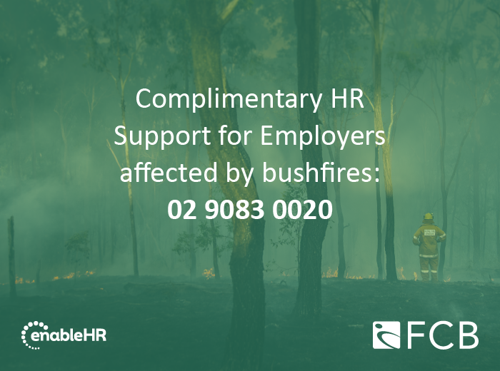 Bushfires in Australia – Employers' rights and obligations
