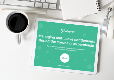 Managing staff leave entitlements during the coronavirus pandemic
