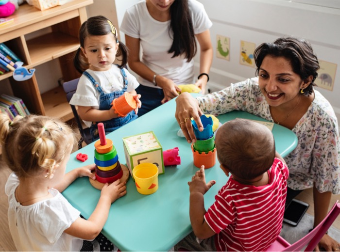 Childcare wages set to rise by 10 per cent